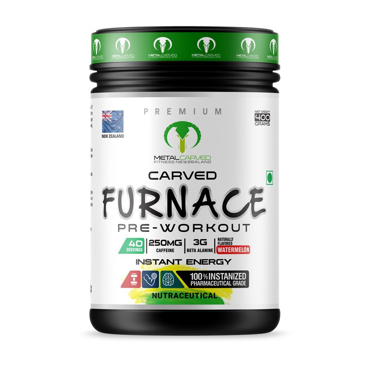 Picture of Metal Carved Furnace Pre-workout - Watermelon 400 grams (40 servings)