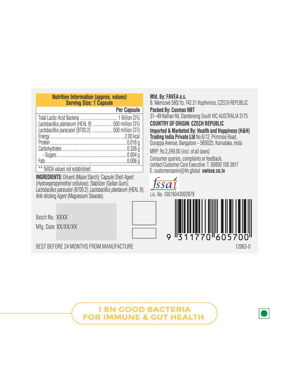 Picture of Swisse Ultibiotic Daily Immune Probiotic 30 Capsules