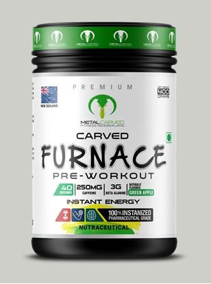 Picture of Metal Carved Furnace Pre-workout -  Green Apple 400 grams (40 servings)