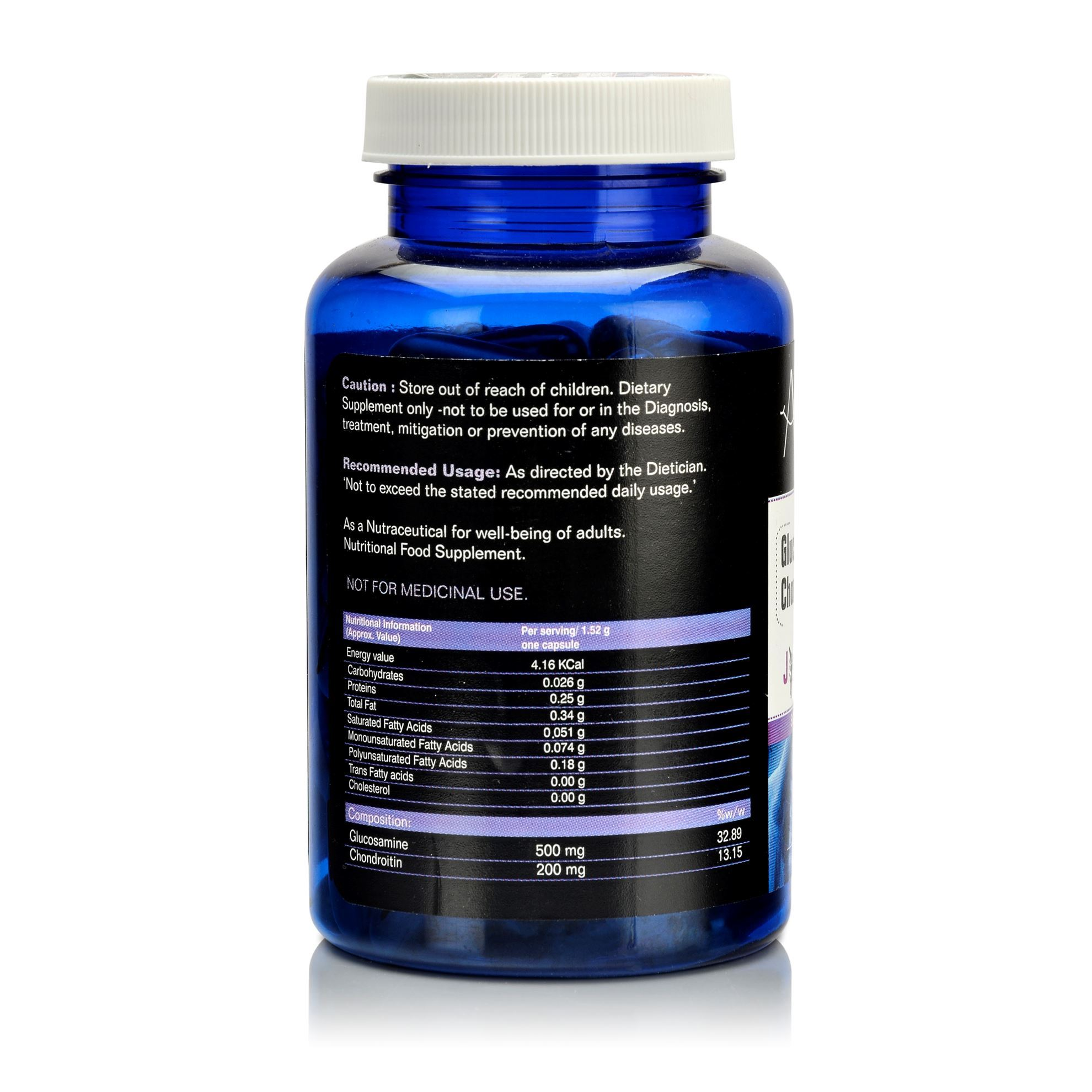 Picture of Alvizia Glucosamine 500 mg Chondroitin 200 mg Joint Complex Softgel 90 Capsules