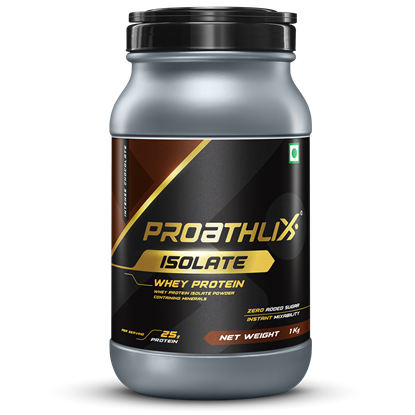 Picture of Proathlix Whey Protein Isolate Intense Chocolate 1Kg