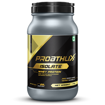 Picture of Proathlix Whey Protein Isolate Vanilla 1Kg