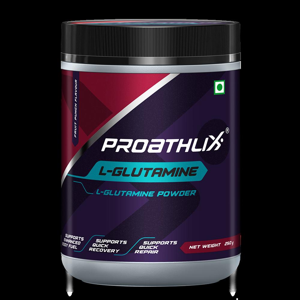 Picture of Proathlix L- Glutamine Fruit Punch 250G