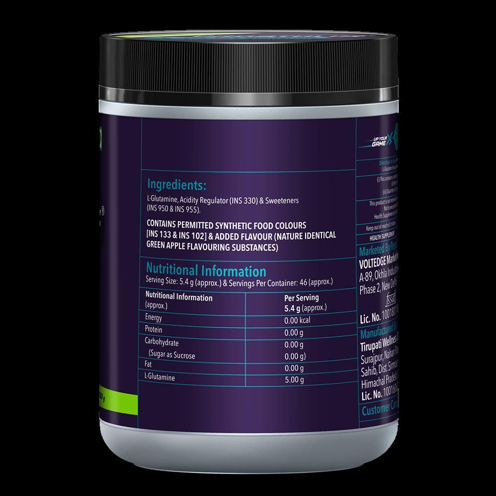 Picture of Proathlix L- Glutamine Green Apple 250G