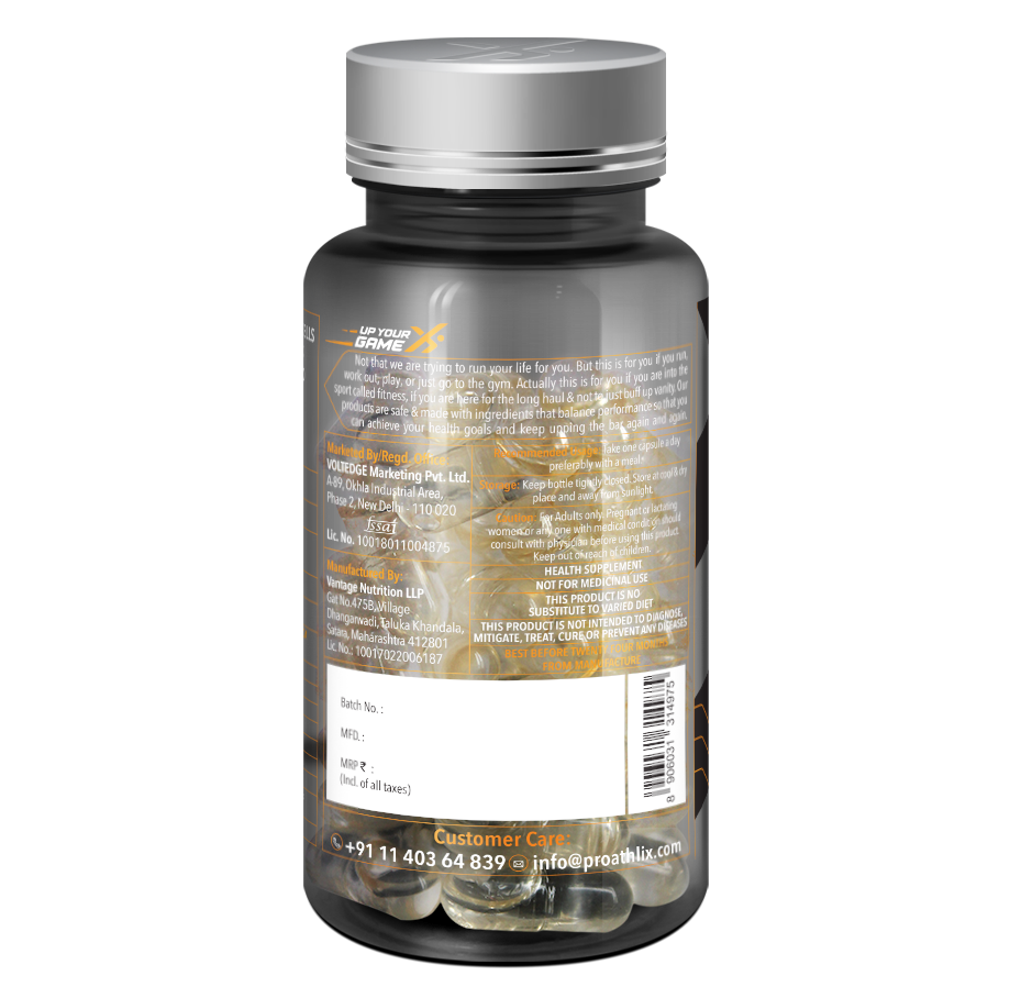 Picture of Proathlix L-Carnitine Max 60N