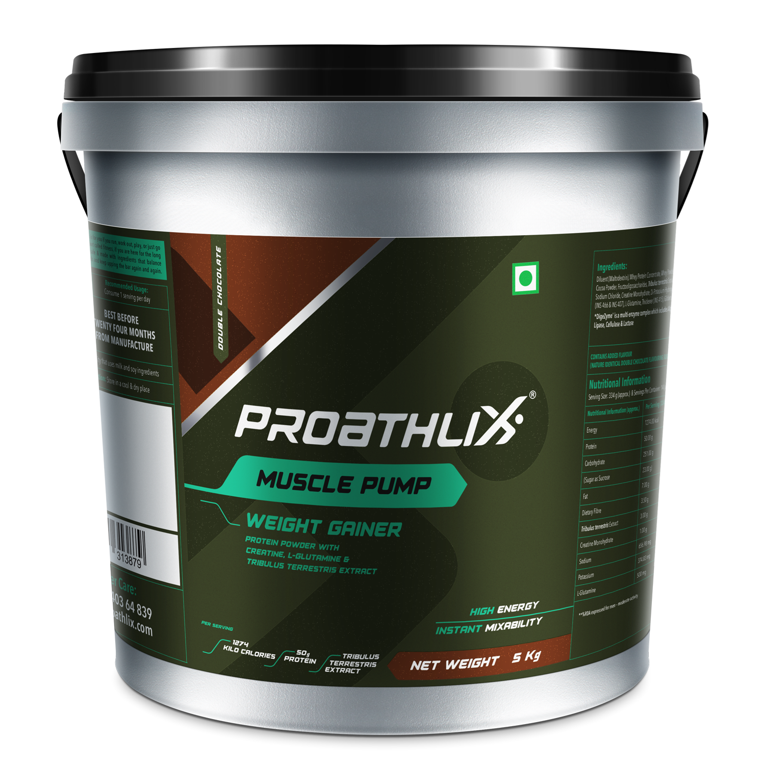 Picture of Proathlix Muscle Pump Double Chocolate 5kg