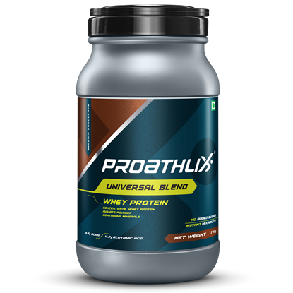 Picture of Proathlix Universal Blend Whey Protein Belgian Chocolate 1kg