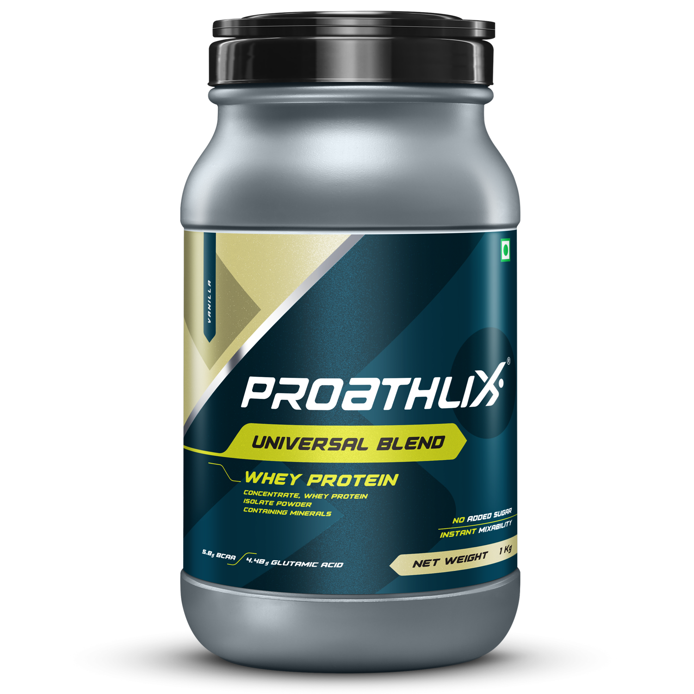 Picture of Proathlix Universal Blend Whey Protein Vanilla 1Kg