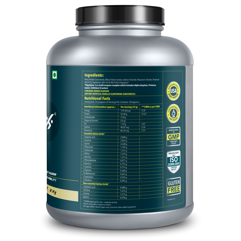 Picture of Proathlix Universal Blend Whey Protein Vanilla 2Kg