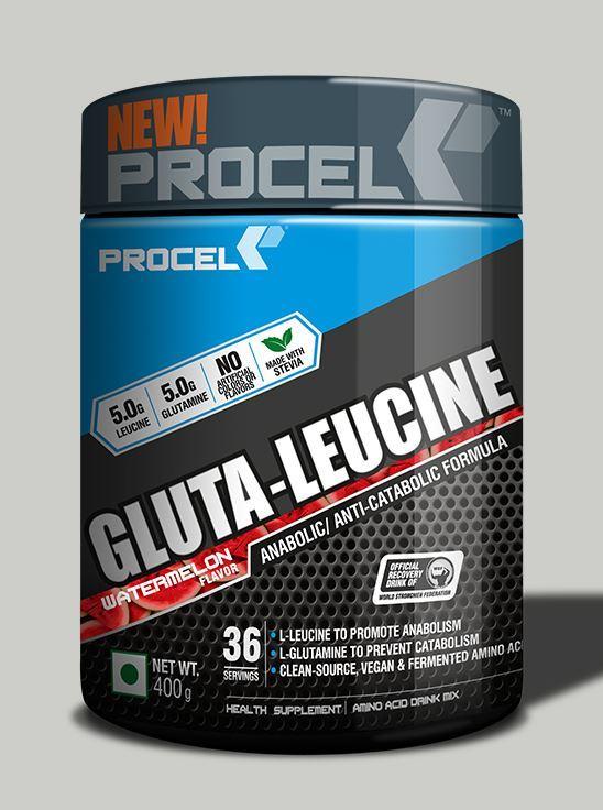 Picture of PROCEL Gluta-Leucine 36 Servings 400g Watermelon