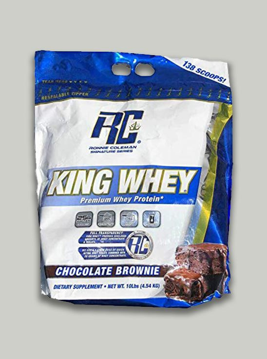 Picture of Ronnie Coleman - King Whey Chocolate 10 Lbs Expiry:01-06-2021