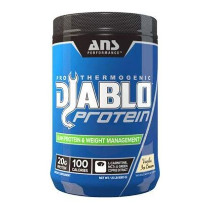 Picture of ANS Performance Diablo Thermogenic Lean Protein and Weight Control Vanilla Ice Cream 1.5 lbs