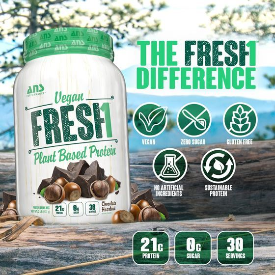 Picture of ANS Performance FRESH1 Vegan Protein Vanilla Chai 2lbs