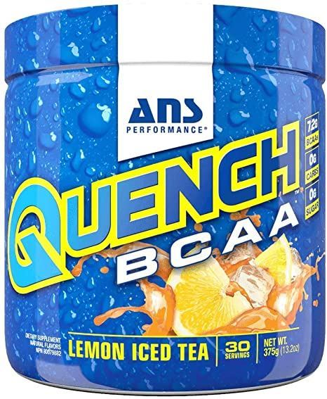 Picture of ANS Performance QUENCH BCAA Preworkout Lemon Iced Tea  30 servings