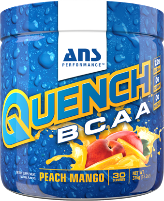 Picture of ANS Performance QUENCH BCAA Preworkout Peach Mango 30 serving