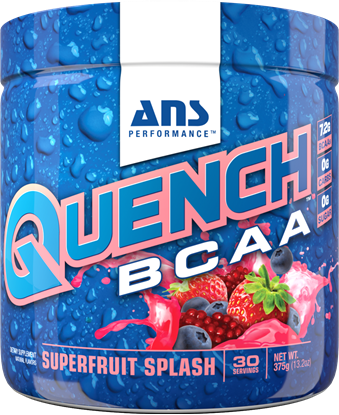 Picture of ANS Performance QUENCH BCAA Preworkout Superfruit Splash 30 servings