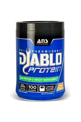 Picture of ANS Prformance Diablo Thermogenic Lean Protein and Weight Control Caramel Macchiato 1.5 lbs