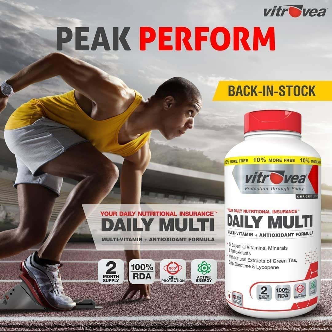 Picture of Vitrovea DAILY-MULTI Immunity Multivitamin With Natural Extracts 132 softgels