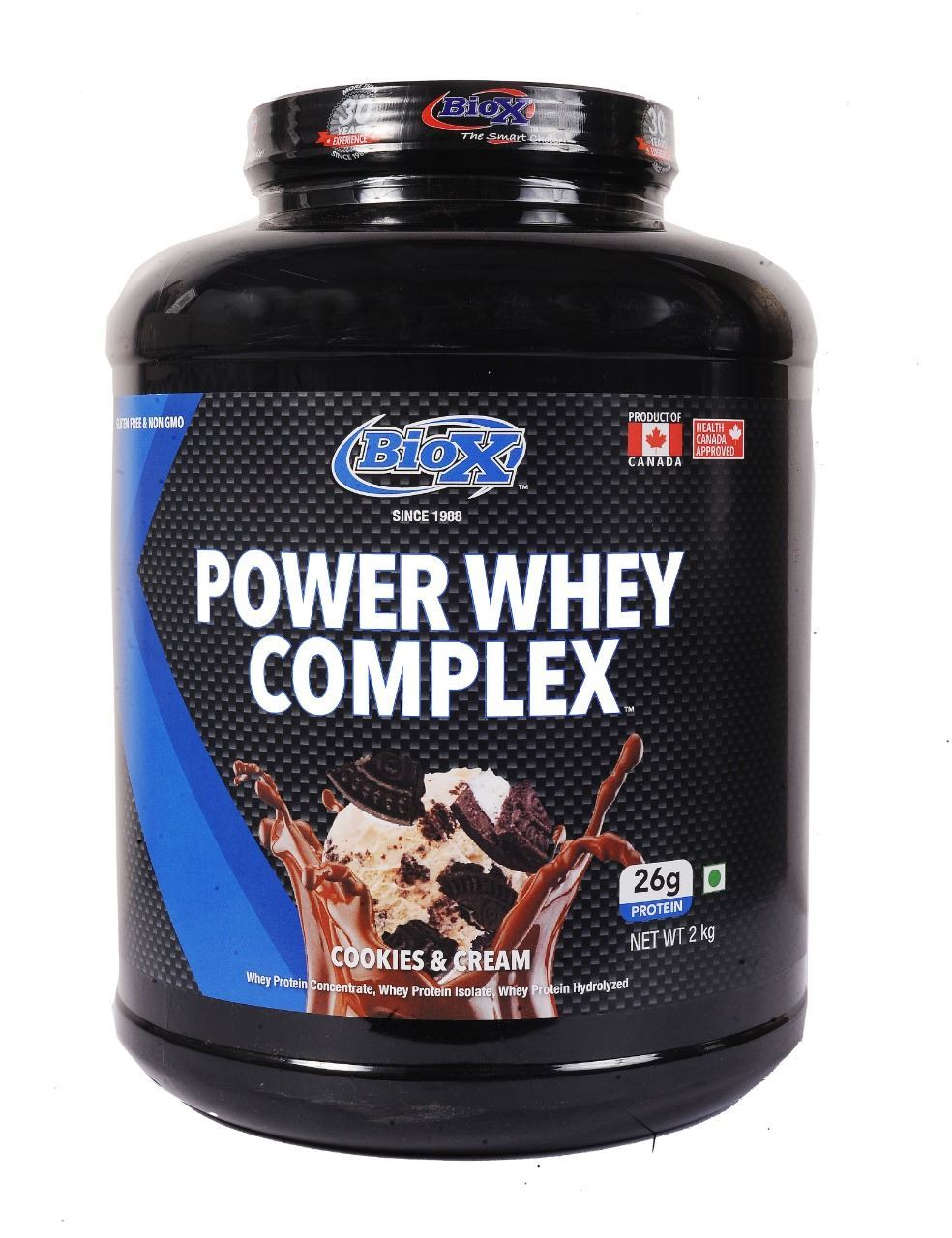 Picture of BioX Power Whey Complex Chocolate Caramel 2kgs