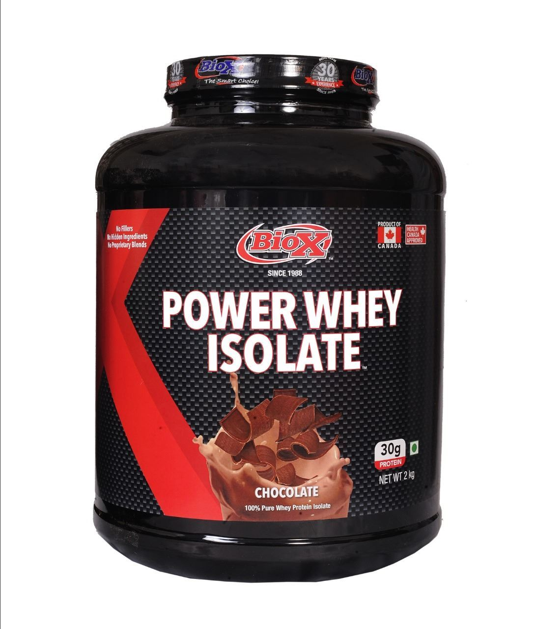 Picture of BioX Power Whey Isolate  Chocolate 2kgs