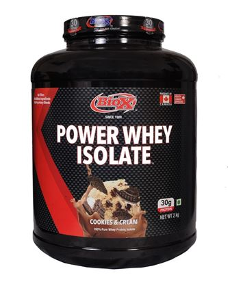 Picture of BioX Power Whey Isolate Cookies 2kgs