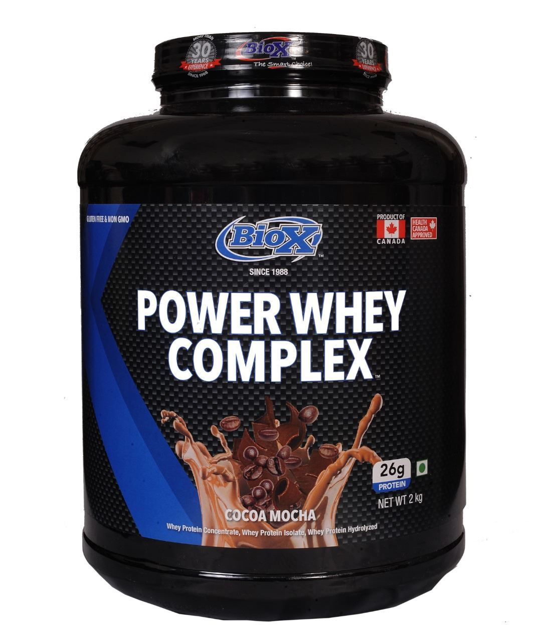 Picture of BioX Power Whey Complex Chocolate Mocha 2kgs