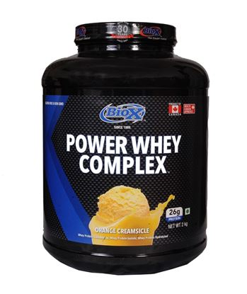 Picture of BioX Power Whey Complex Chocolate Peanut Swirl 2kgs