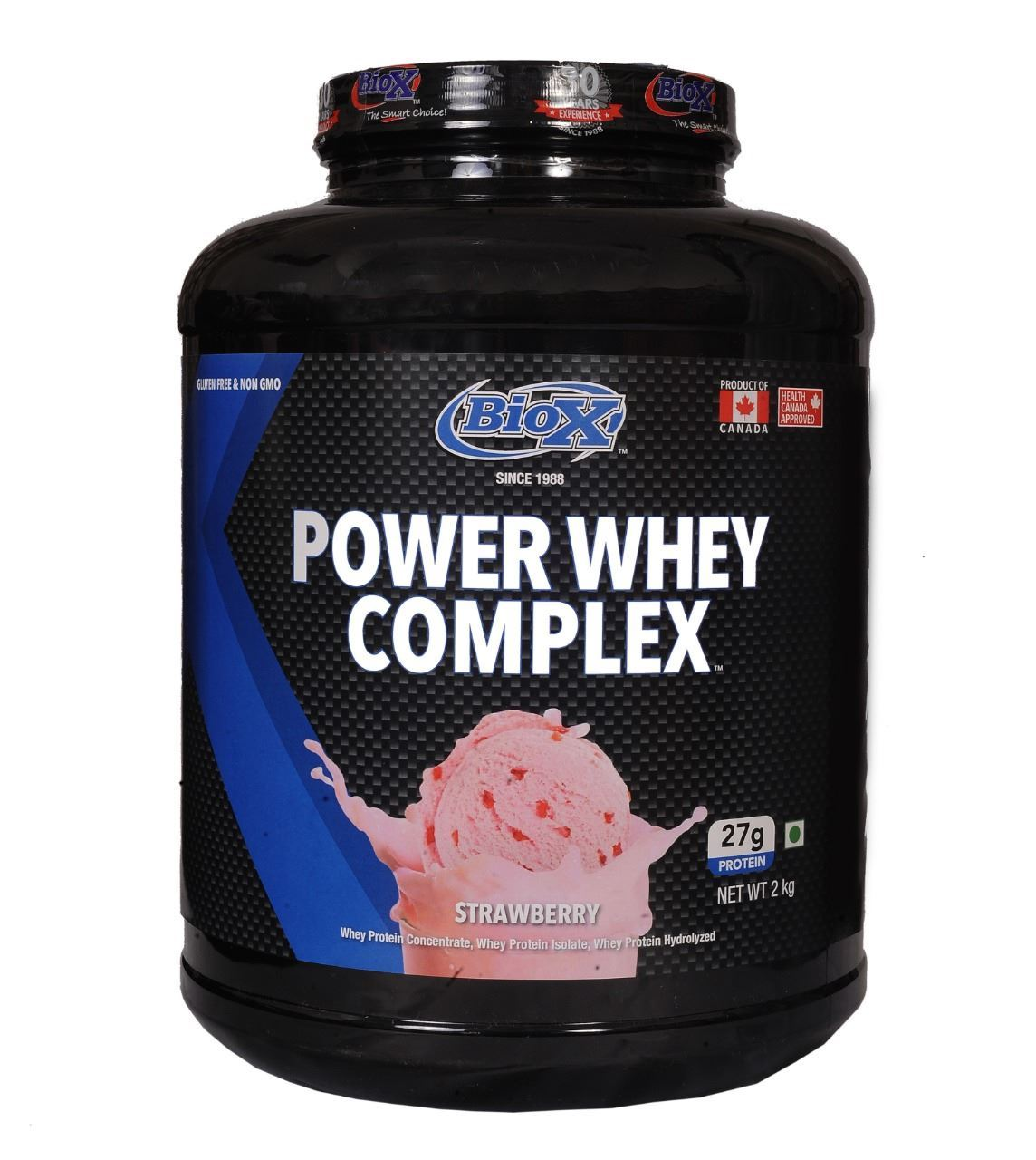 Picture of BioX Power Whey Complex Strawberry 2kgs