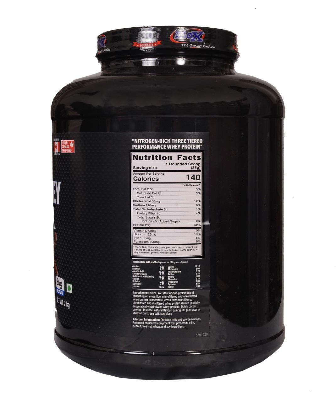 Picture of BioX Power Whey Complex Vanilla 2kgs
