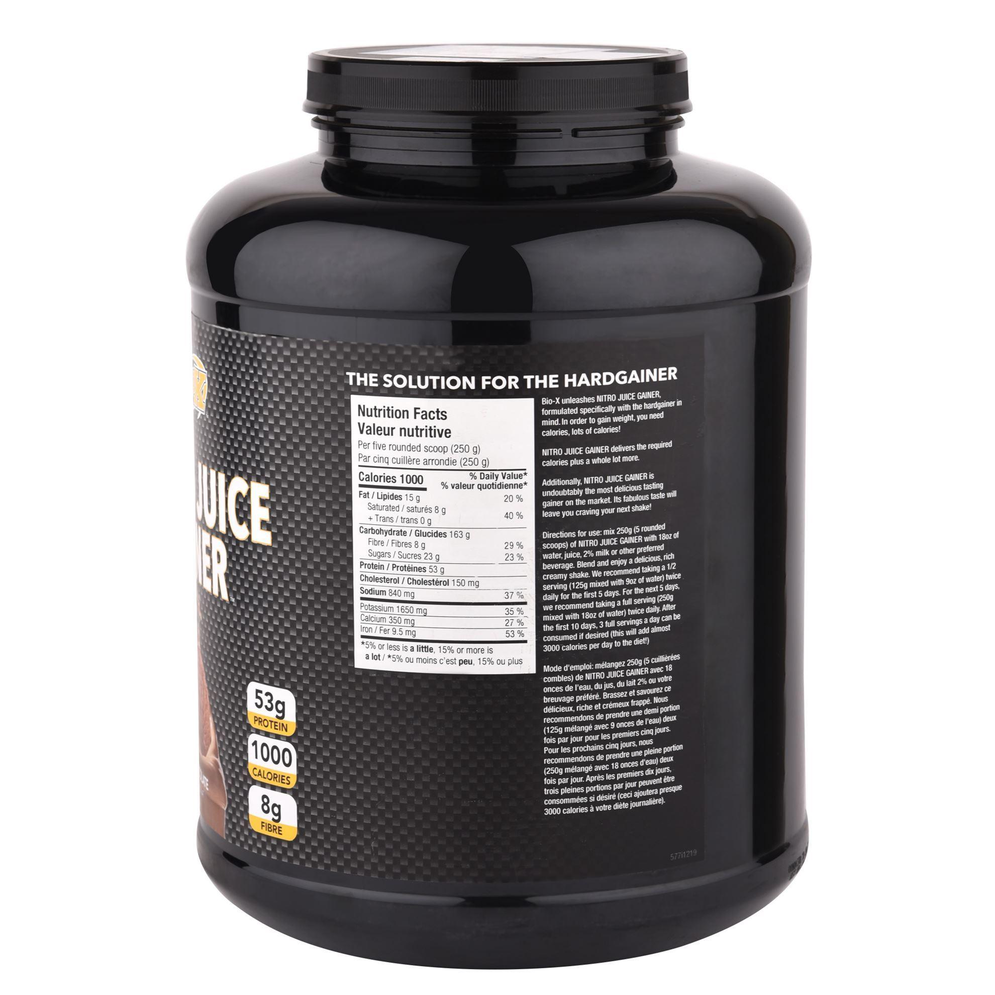 Picture of BioX Nitro Juice Gainer Chocolate 6 LBS