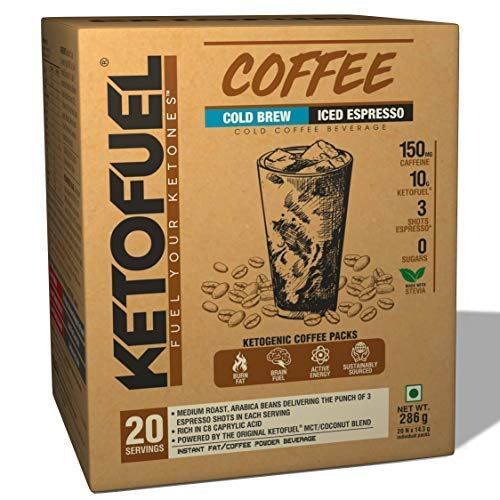 Picture of Ketofuel® MCT Keto Coffee Hot Brew/Cold Brew Combo Pack (20+20 Packs) 40 Servings