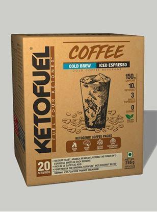 Picture of KETOFUEL® COLD BREW Keto-Coffee Iced-Espresso 20 pks