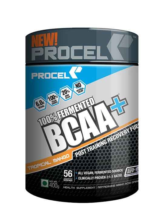 Picture of PROCEL 100% Fermented BCAA+ 400g Orange Burst & 400g Tropical Mango- Buy One Get One Free