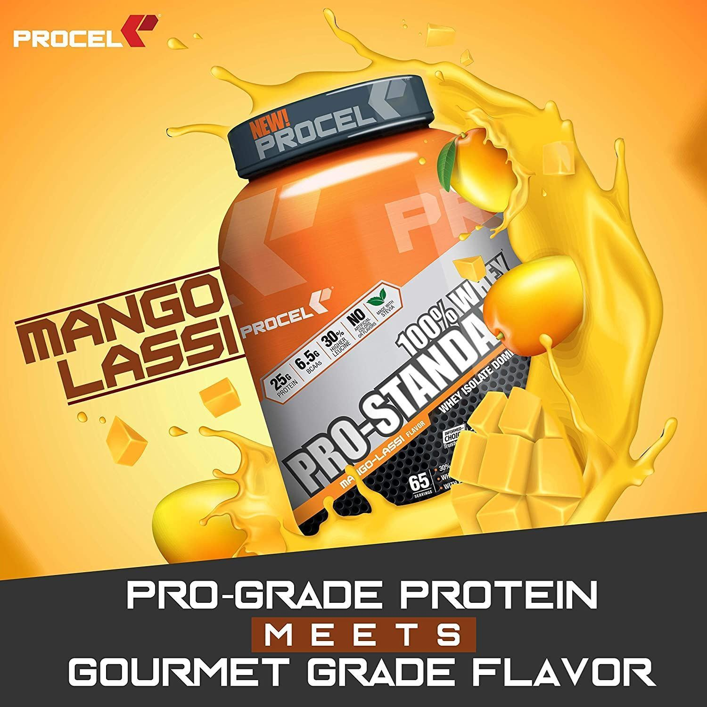 Picture of PROCEL Pro-Standard 100% Whey Trial Pack 200g Mango Lassi (Short Shelf Life)