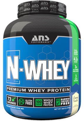 Picture of ANS Performance N Whey premium whey protein 5 lbs Cookies & Cream