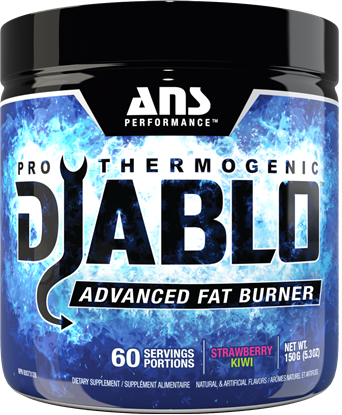 Picture of ANS Performance Diablo V2 - Pro Thermogenic Strawberry Kiwi 60 serving