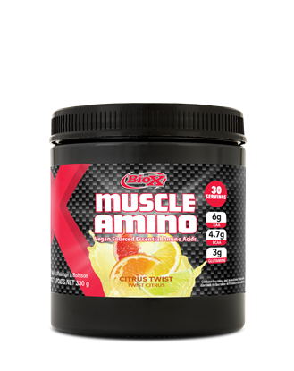 Picture of Biox Performance EAA Vegan Sourced Muscle Amino Acid Powder Citrus EAA 30 serving